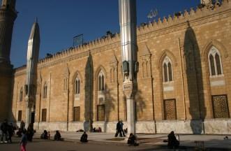 Mosquée El Hussein et sa place