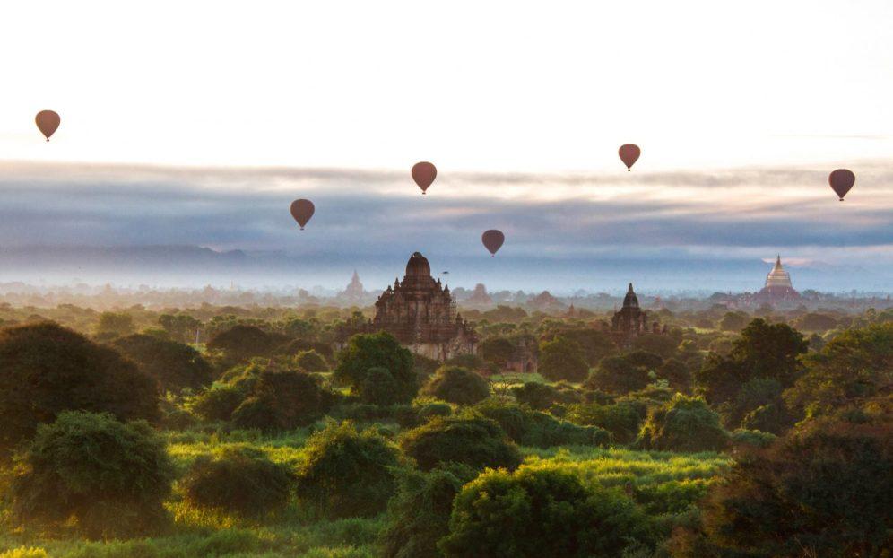 Bagan Nyaung U Myanmar Birmanie