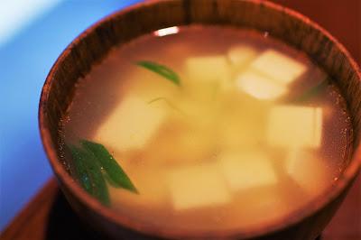 豆腐と中華風スープ