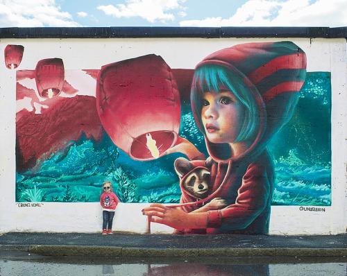 streetartglobal:  Calling Home by Yash in Stockholm (http://globalstreetart.com/yash)