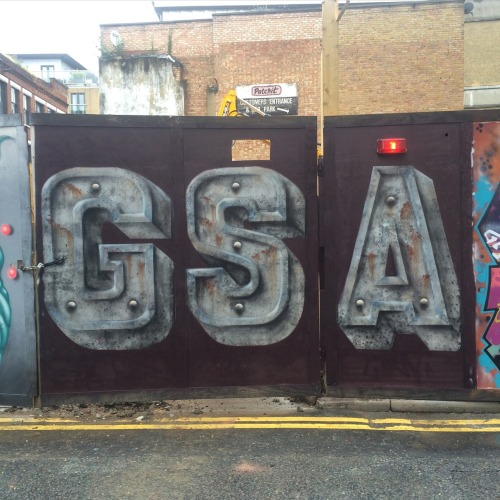 streetartglobal:  Massively flattered! By @lionel_stanhope in London at our new spot on Calvin Street.