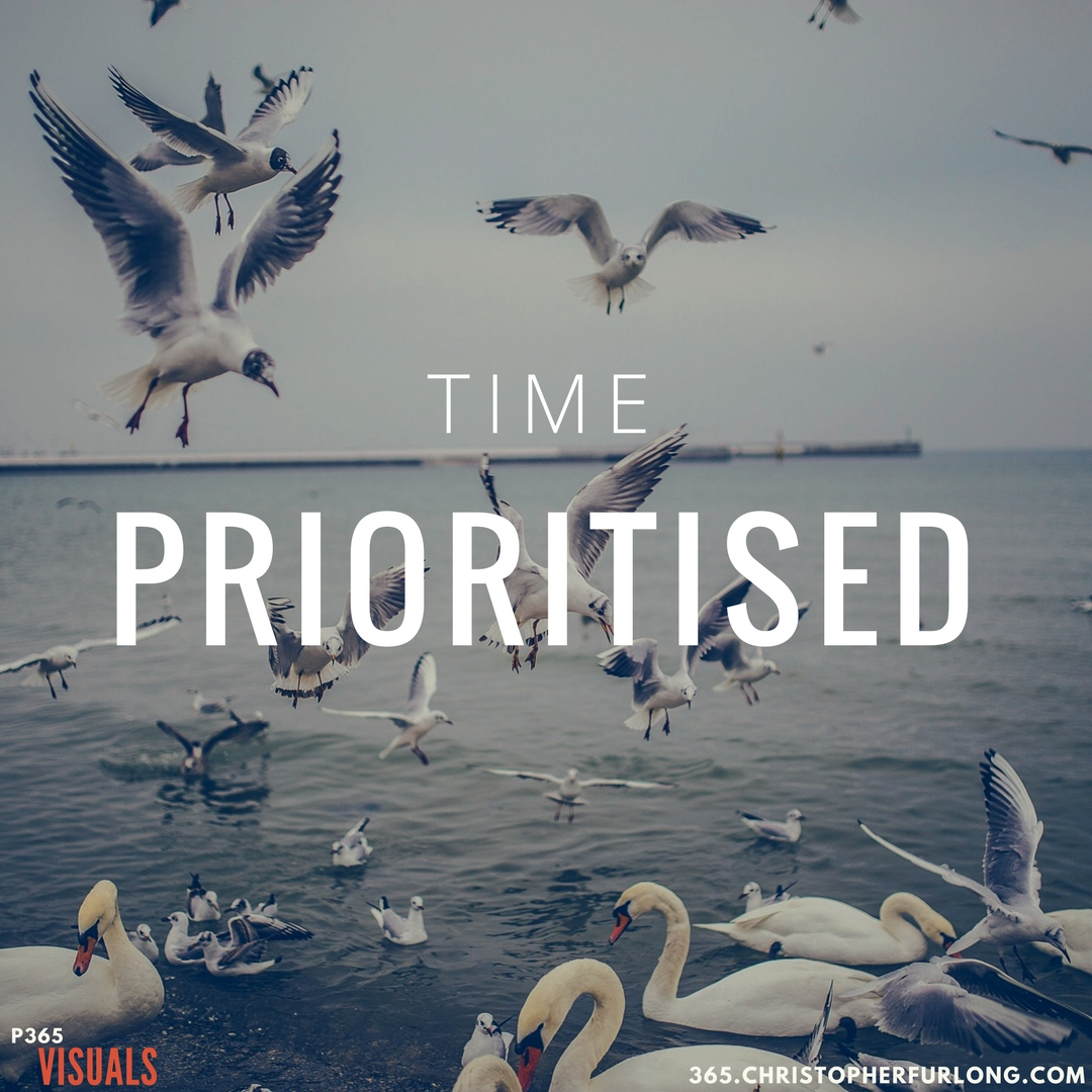 Day #266: Time Prioritised