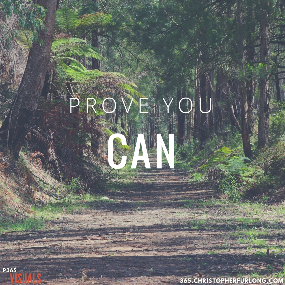Day #284: Prove You Can