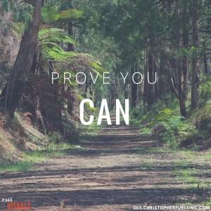 Prove