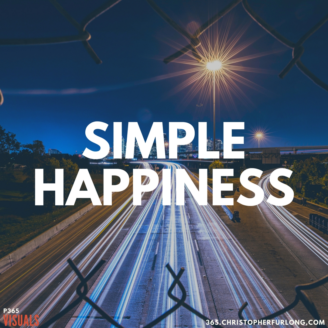 Day #339: Simple Happiness