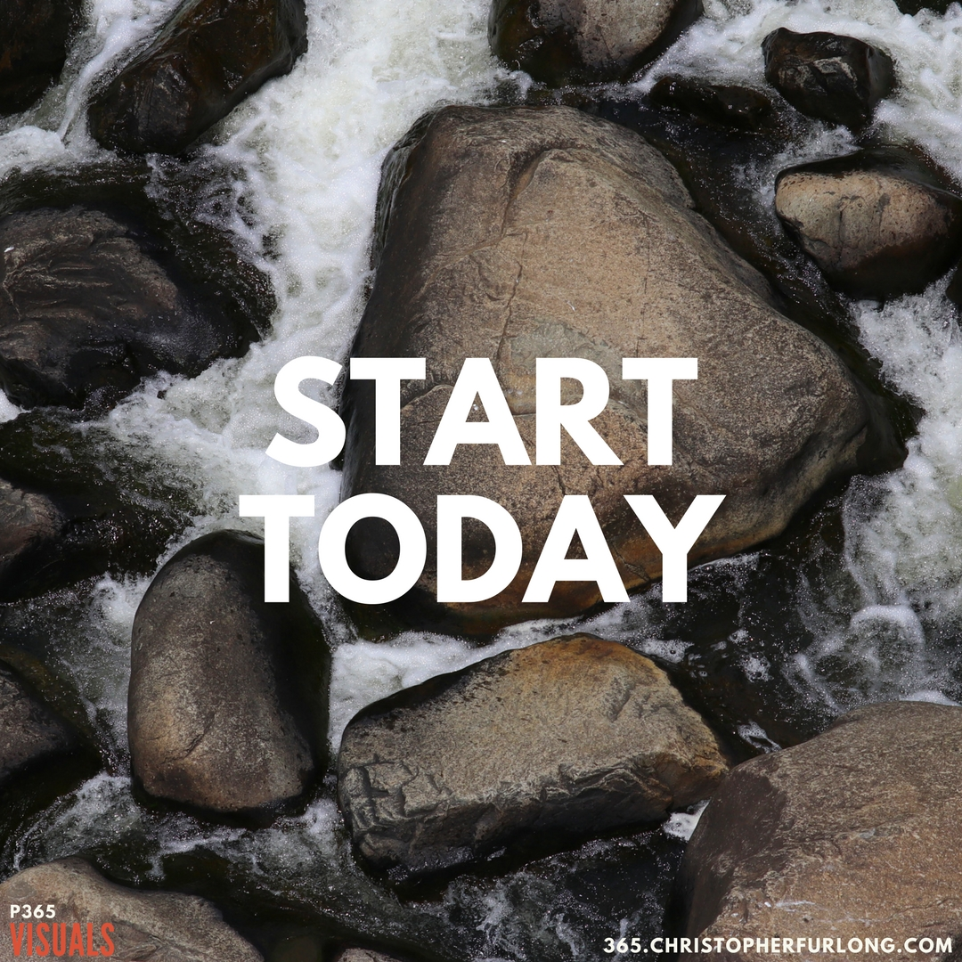 P365 2018: Day #001: Start Today