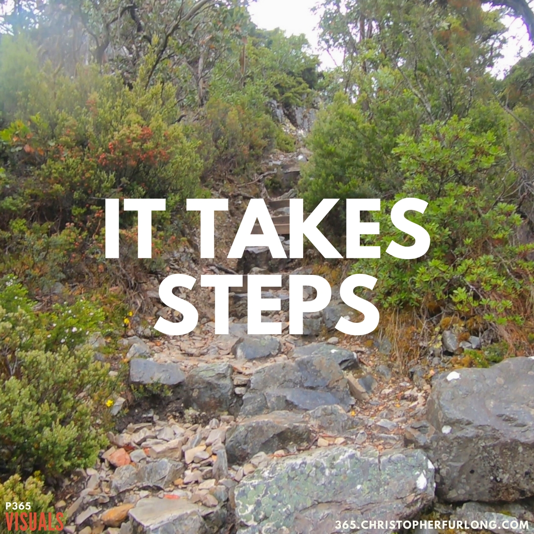 P365 2018: Day #002: It Takes Steps