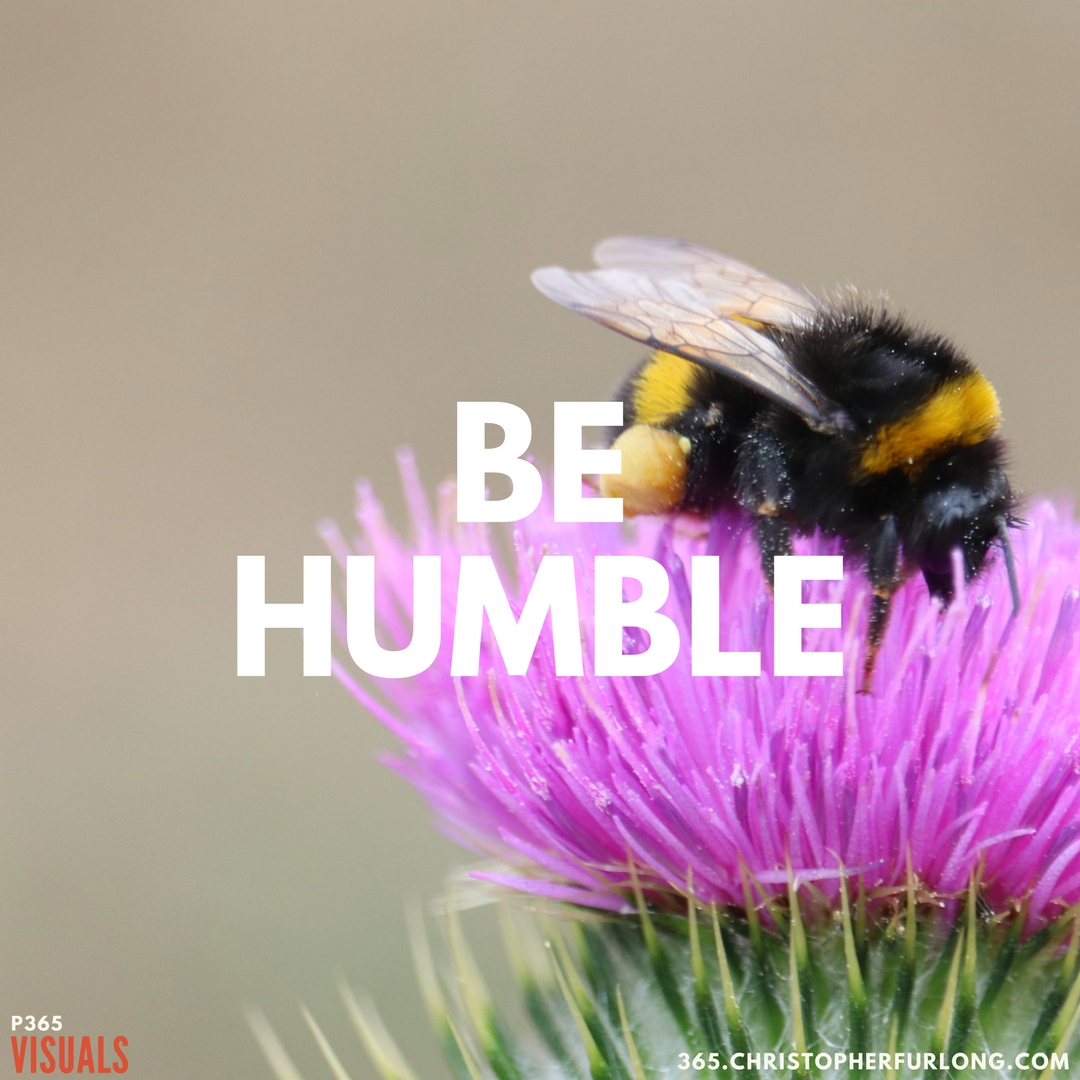 P365 2018: Day #005: Be Humble
