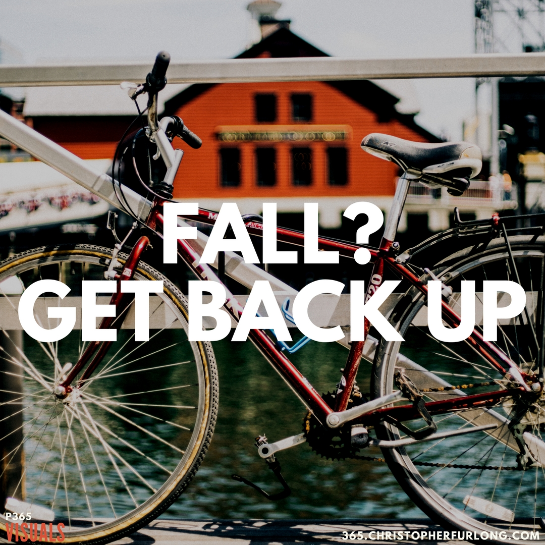 P365 2018: Day #067: Fall? Get Back Up