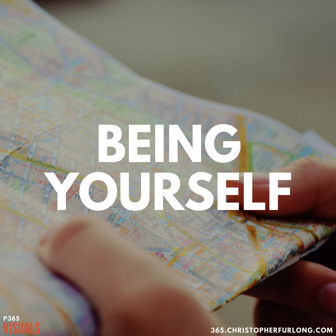 P365 2018: Day #123: Being Yourself