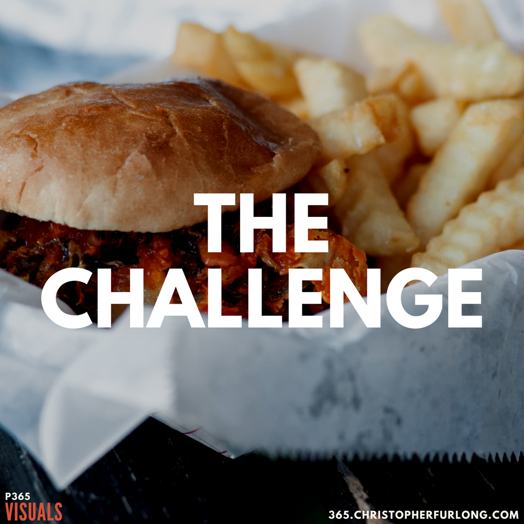 P365 2018: Day #171: The Challenge