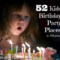 52 Kids Birthday Party Places in Atlanta
