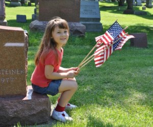 Remembering Veterans at Evergreen Cemetery