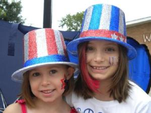 Celebrating July Fourth in Barrington