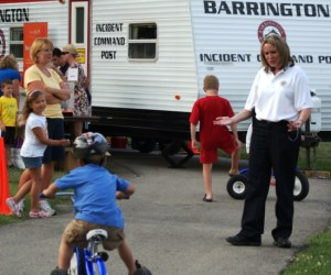 124.  Barrington's Night Out Against Crime