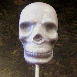 Skull Lollipop at Anna Shea Chocolates