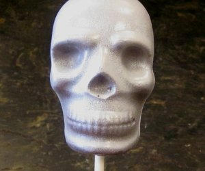 Skull Lollipop at Anna Shea Chocolates