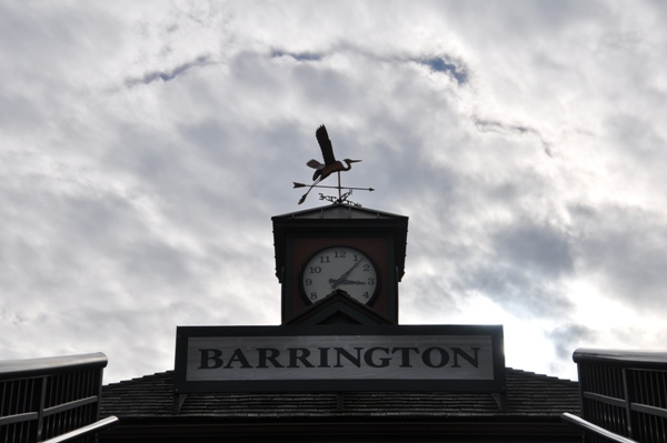 Barrington Metra Weathervane