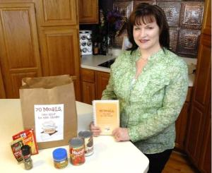 Barrington Cookbook Author, Kelly Donlea