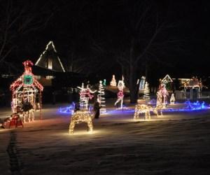 274.  Barrington Holiday Lights Love Story
