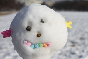Post - Snowman Candy Head