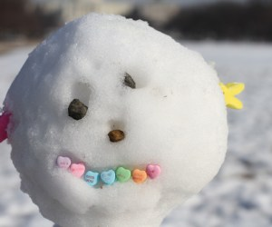 98.  Snowman Building Day & Contest for Candy Prize