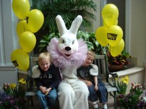 Easter Bunny Trail in Barrington, Illinois