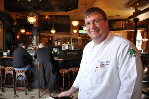 Chef Ted Stay of McGonigal's Pub & the Park Avenue Restaurant and Wine Bar