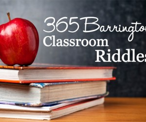 218.  KIDS CLUB:  Take the Classroom Riddle Challenge