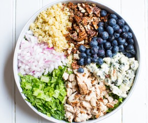 Post - 4pm Panic - Blueberry Salad - 1 - Featured