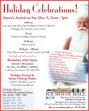 Guess Who's Coming to Town? Santa at the Ice House Mall @ Ice House Mall & Village Shops