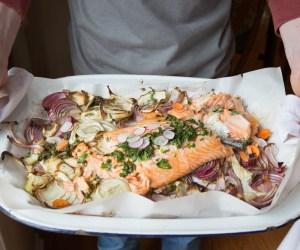 352. Heinen's 4PM Panic: Fresh Fennel Baked Salmon