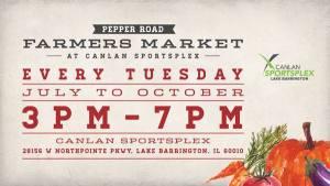 Pepper Road Farmers Market at Canlan Sportsplex