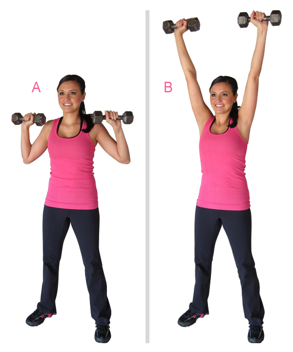 Dumbbell Shoulder Press
