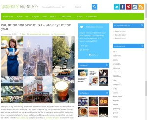 Monica DiNatale 365 Guide New York City Book