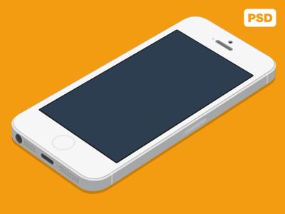 Iphone 5s Flat White