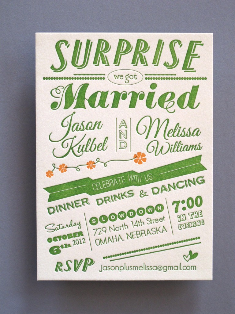 thomas printers affordable letterpress letterpress wedding invitations This is a paid post from an APW Sponsor