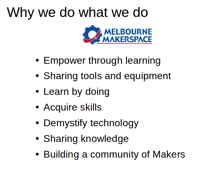 why we do what we do
