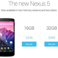 Google Introduces Nexus 5
