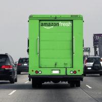 AmazonFresh Truck Spotted