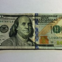 Does Ben Franklin look a bit different?
