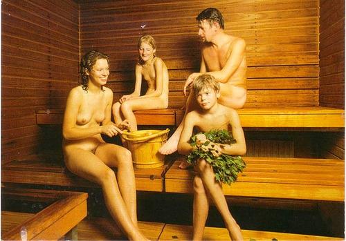 hot sauna women