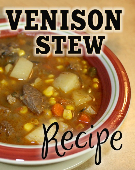 how to cook venison stew meat