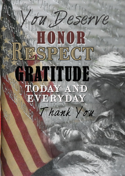 Remember them every day, not just on Veterans Day