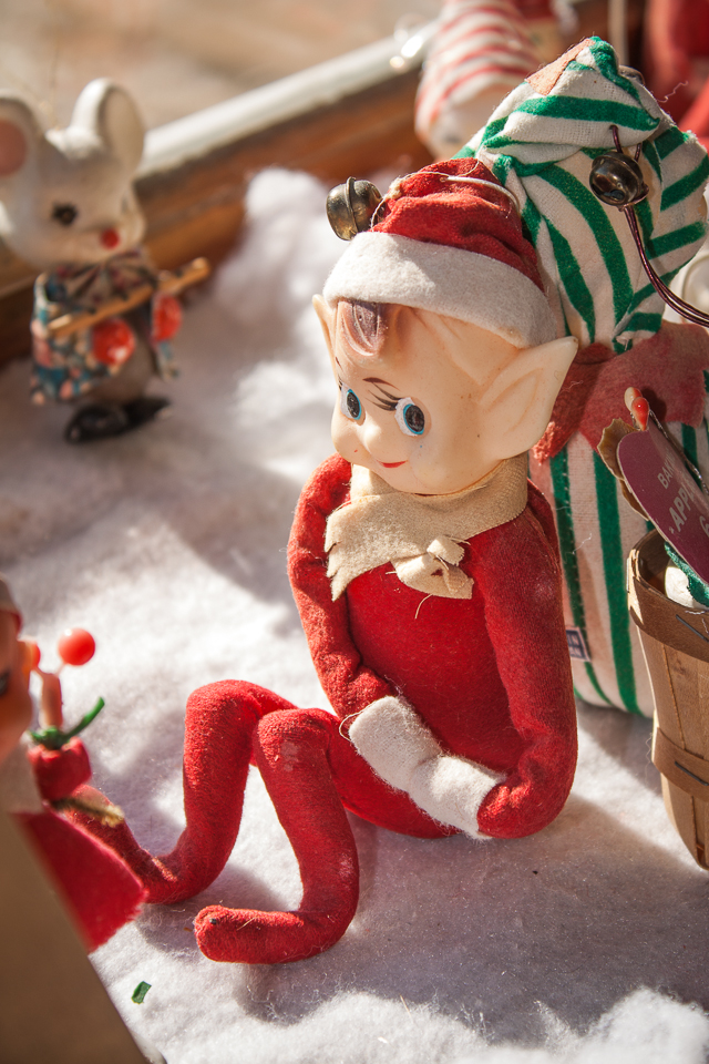 Red Elf on a Shelf