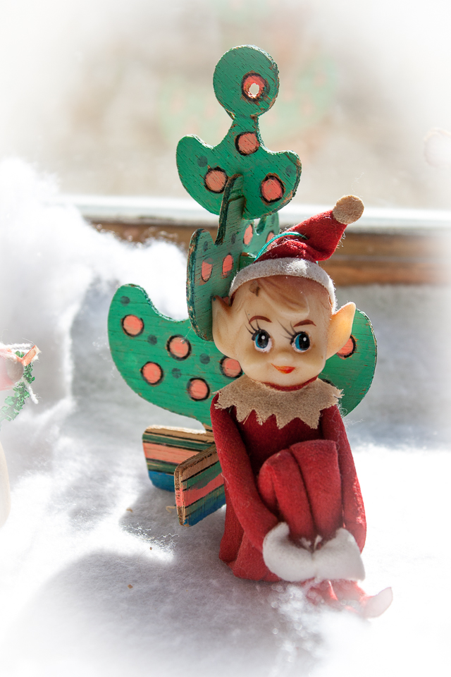 Cute Elf on a Shelf