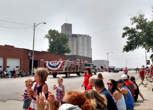 4th of July parade in Murdock Nebraska