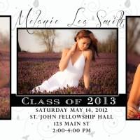 Free Photoshop Template: Graduation Invitation