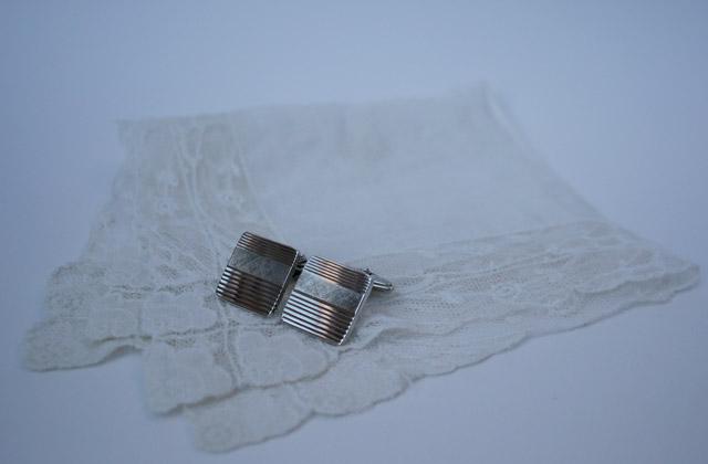 zilveren vintage manchetknopen bruiloft