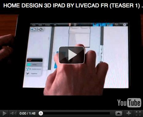 Spielend das Traumhaus in 3D entwerfen: Livecad-Software für iPhone und iPad